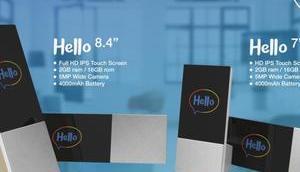 Neuer smarter Mitbewohner ARCHOS Hello oder 8,4-Zoll-Display