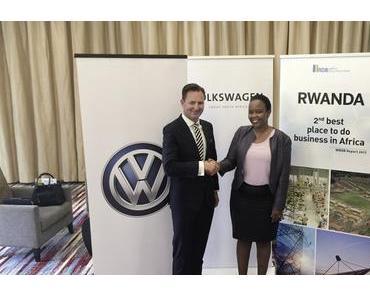 Mobility Services: Volkswagen wird in Ruanda aktiv