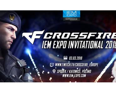 Der Countdown läuft: Das sind die Teams für das CROSSFIRE IEM Expo Invitational 2018!
