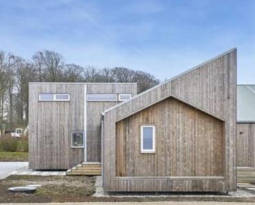 Öko aber oho: Nachhaltiges Modularhaus aus recycelten Materialien und Kebonyholz