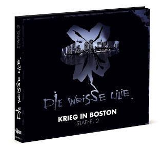 Hörspielrezension: «Die Weisse Lilie - Staffel 2: Krieg in Boston» (Folgenreich; seit dem 26.01.2018 im Handel)