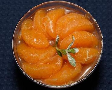 Panna-Cotta mit Mandarinen (vegan)