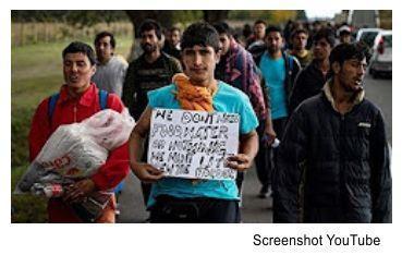 Migrantenaufnahme geht ungehindert weiter, Schleppung über Balkanroute, Luftweg und Mittelmeer. Sozialparadies Deutschland, ein unschlagbarer Anziehungsmagnet