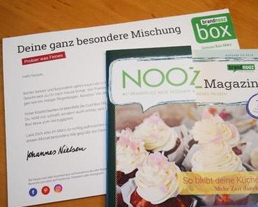Die Brandnooz Genussbox / März ´18