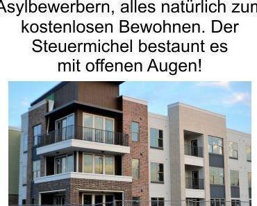 Deutschland verbaut kräftig Steuermittel für die Migration, neue Wohneinheiten verschiedener Größen für Asylbewerber in Bielefeld