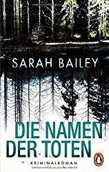 Sarah Bailey - Die Namen der Toten