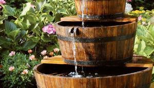 Outdoor Brunnen Ideen