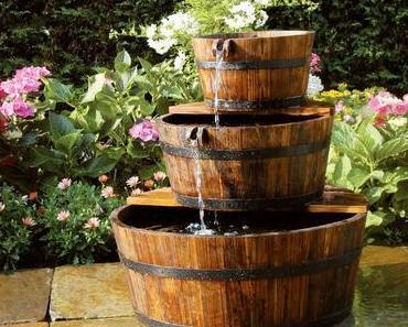 10 Outdoor Brunnen Ideen