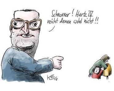 Volltreffer: Jens Spahn im Spiegel-Cartoon der Woche