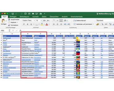 Heute mal kein Raspberry Pi: 5 Min Excel Gruppierungen zur Abwechselung