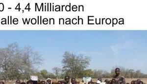 """""""Grenzenloses"""" Vertrauen Altparteien, trotz Migrantenkriminalität, Masseneinwanderung, politisch genehmigter Polygamie, Migrationskosten Ausverkauf deutschen Interessen"""