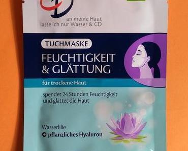 [Werbung] CD Tuchmaske Feuchtigkeit & Glättung + essence Glow like a Mermaid Highlighter 10 forever mermaid