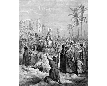 Bibeltexte für die Passionswoche – Palmsonntag