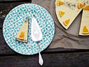 Fruchtiger Cheesecake mit Mohn