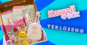 Kawaii BOX Unboxing + GEWINNSPIEL – März-Edition