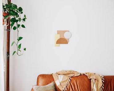 DIY mit tesa: modernes Spiegel-Wandbild