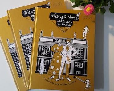 Ulrike Steinke über das Mitmachbuch Franz & Mary – bei Stucks zu Hause