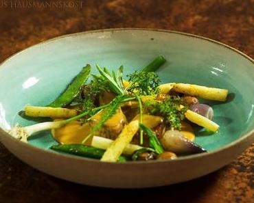 Hausmannskost: Kalbsfrikassee mit Gemüse