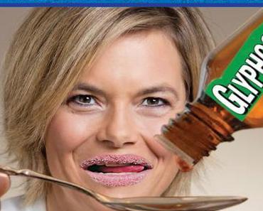 """Julia Klöckner: """" Ich schlucke täglich ein Löffelchen Glyphosat. Lecker ! """""""