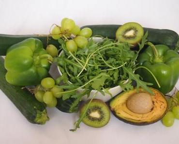 Grün, grün, grün ist alles, was ich esse