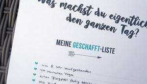 Geschafft-Liste mehr Selbstliebe
