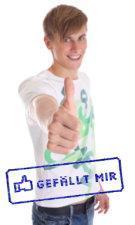 """Gefällt mir"" zum abstempeln (offline like button)"