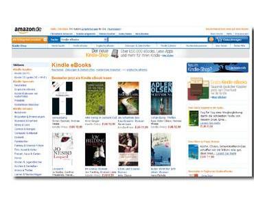 [News] Amazon hat Kindle Shop gestartet