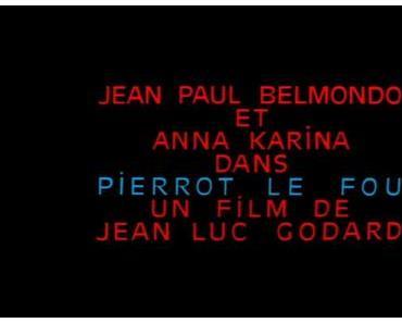 PIERROT LE FOU [1965]