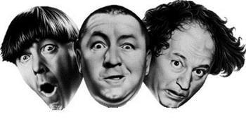 Sind die drei Stooges der Farrelly Brüder komplett?