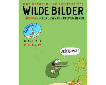 Wilde Bilder – Cartoons mit großen & kleinen Tieren