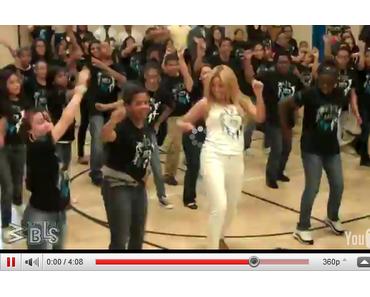 Beyonce überrascht Highschoolschüler beim Tanzunterricht (Video)