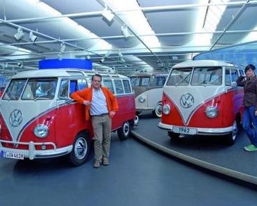 VW T1 Samba Bus feiert sein 50 jähriges Jubiläum im Automusem von Volkswagen