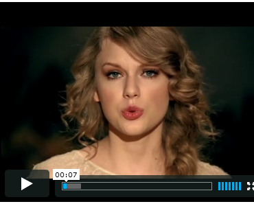 "Taylor Swift ""Mean"" Musikvideo"