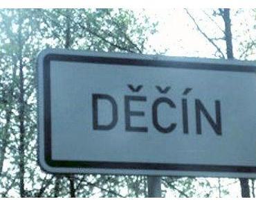Děčín (auf deutsch Tetschen)