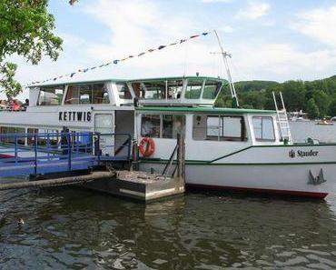 Bootstour auf dem Baldeneysee