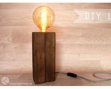 DIY Tischlampe