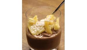 Schoko-Kokos-Pudding