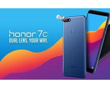 Das Honor 7c kostet in Deutschland nur 179,90 €