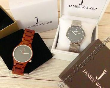 Immer die passende Uhr am Arm dank James Walker #Armbanduhr #HolzUhr #Gewinnspiel