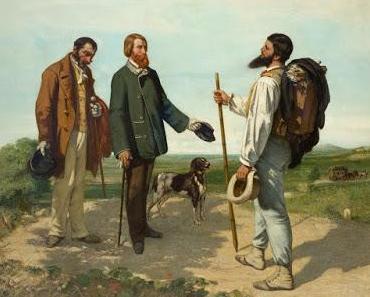 Courbet, selbstbewusster Wanderer