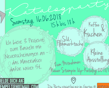 Katalogparty 2018 - Chill&Create