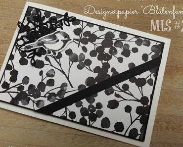 MtS #229: Trauerkarte mit Blütenfantasie