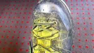 wünsche allen gelbe Schuhe