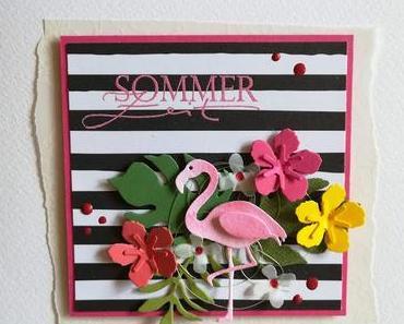 Hilfe, ein Flamingo!