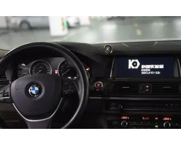 Aktuelle BMW-Modelle kann man drahtlos kapern