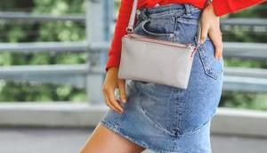 style meinen Jeansrock sportlich casual Alltag!