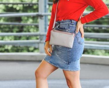 So style ich meinen Jeansrock sportlich und casual im Alltag!