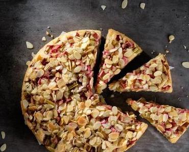 Veganer Rhabarberkuchen