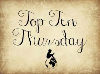 Top Ten Thursday #41