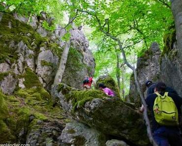 Abenteuerliche Rundwanderung von Plech über den Eibgrat
